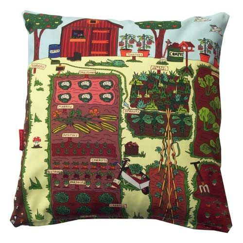 Selina-Jayne Allotment Limited Edition Designer Cushion  42cm x 42cm