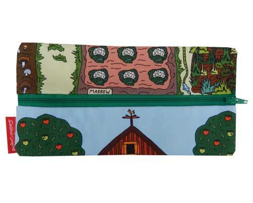 Selina-Jayne Allotment Limited Edition Designer Pencil Case