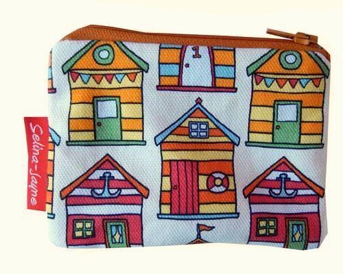 Selina-Jayne Beach Hut Limited Edition Designer Coin Purse