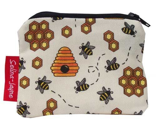 Selina-Jayne Bees Limited Edition Designer Coin Purse