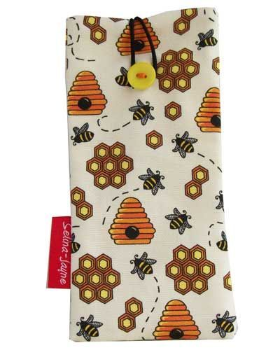 Selina-Jayne Bees Limited Edition Designer Soft Glasses Case