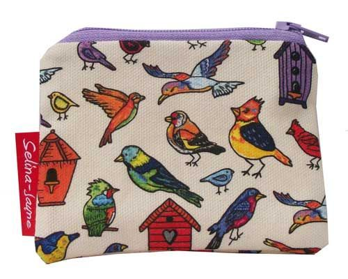 Selina-Jayne Birds Limited Edition Designer Coin Purse
