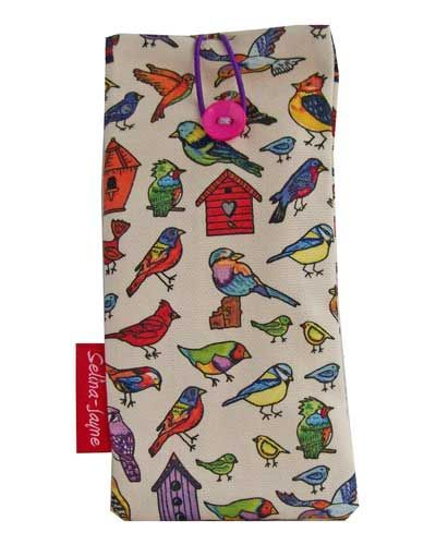 Selina-Jayne Birds Limited Edition Designer Soft Glasses Case