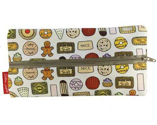 Selina-Jayne Biscuits Limited Edition Designer Pencil Case