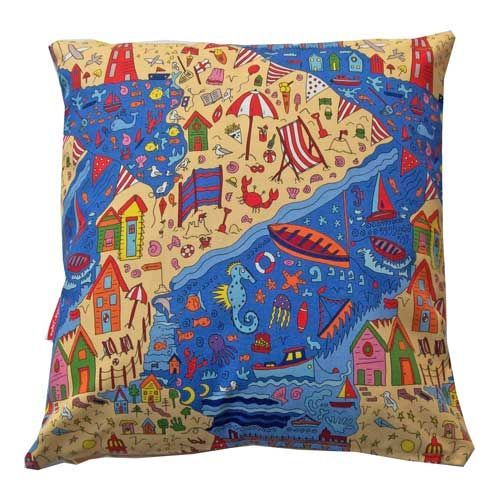 Selina-Jayne British Seaside Limited Edition Designer Cushion  42cm x 42cm