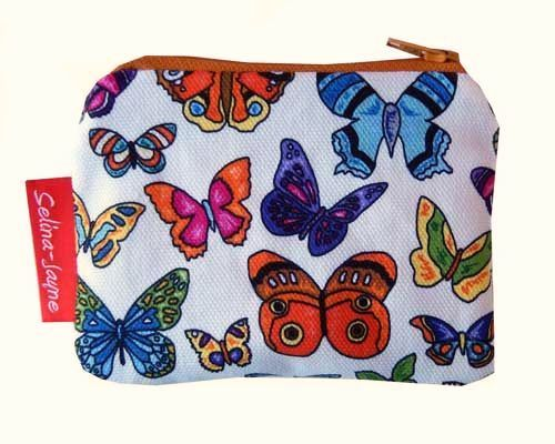 Selina-Jayne Butterfly Limited Edition Designer Coin Purse
