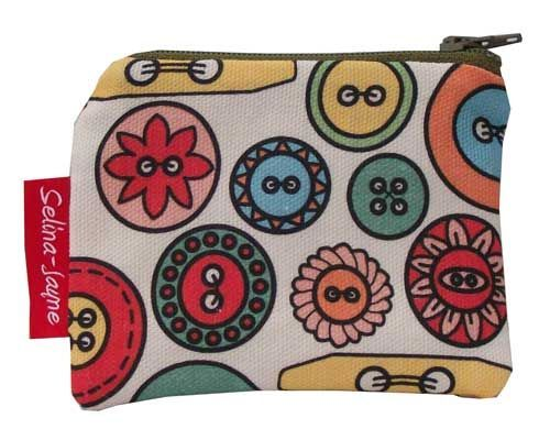 Selina-Jayne Buttons Limited Edition Designer Coin Purse