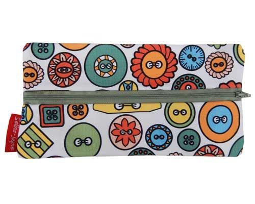 Selina-Jayne Buttons Limited Edition Designer Pencil Case