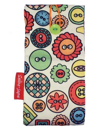 Selina-Jayne Buttons Limited Edition Designer Soft Glasses Case