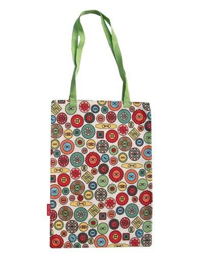 Selina-Jayne Buttons Limited Edition Designer Tote Bag