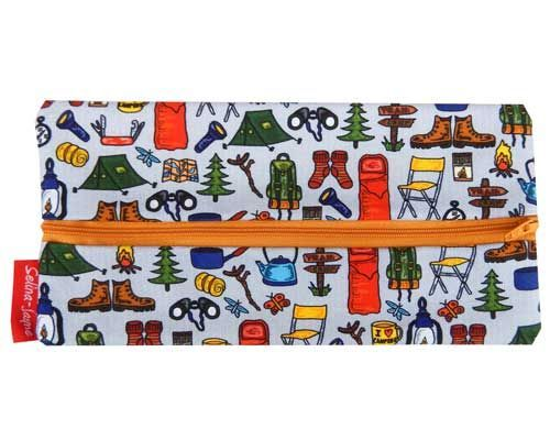 Selina-Jayne Camping Limited Edition Designer Pencil Case