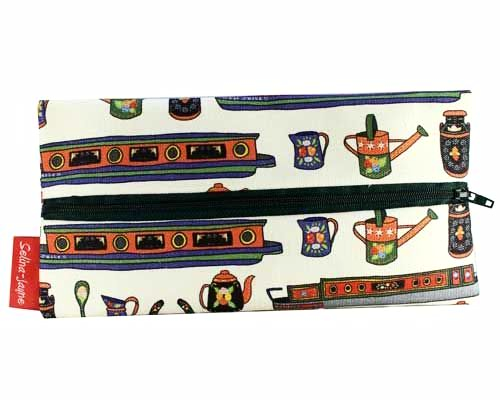 Selina-Jayne Canal Boats Limited Edition Designer Pencil Case