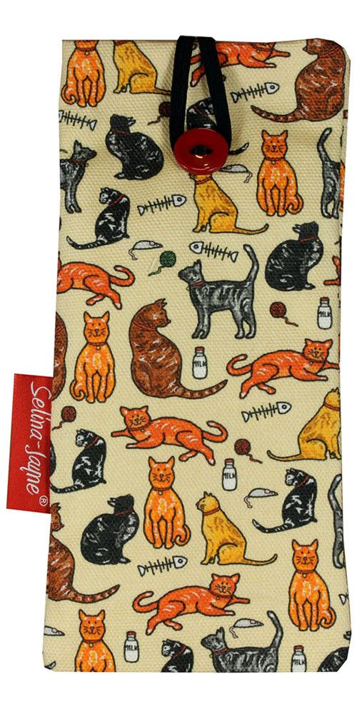 Selina-Jayne Cats Limited Edition Designer Soft Glasses Case