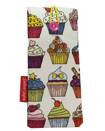 Selina-Jayne Cupcakes Limited Edition Designer Soft Glasses Case