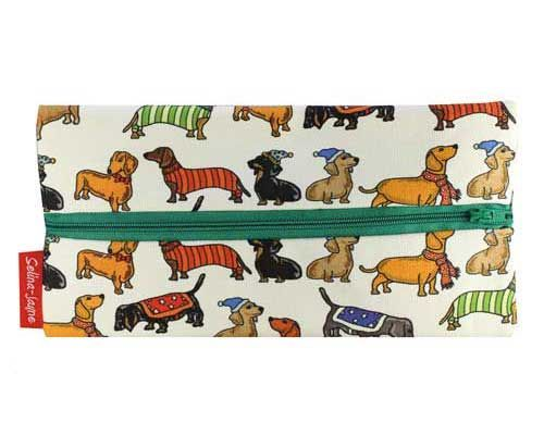 Selina-Jayne Dachshund Dogs Limited Edition Designer Pencil Case