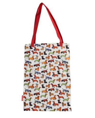 Selina-Jayne Dachshund Dogs Limited Edition Designer Tote Bag