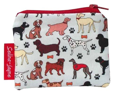 Selina-Jayne Dogs Limited Edition Designer Coin Purse