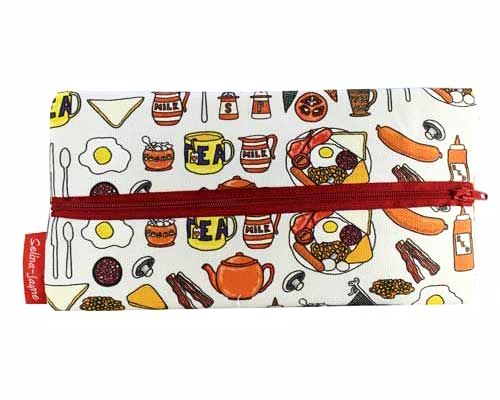 Selina-Jayne English Breakfast Limited Edition Designer Pencil Case