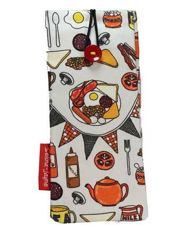 Selina-Jayne English Breakfast Limited Edition Designer Soft Glasses Case