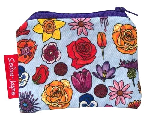 Selina-Jayne English Flowers Limited Edition Designer Coin Purse