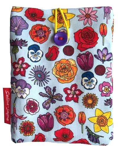 Selina-Jayne English Flowers Limited Edition Designer Passport Holder