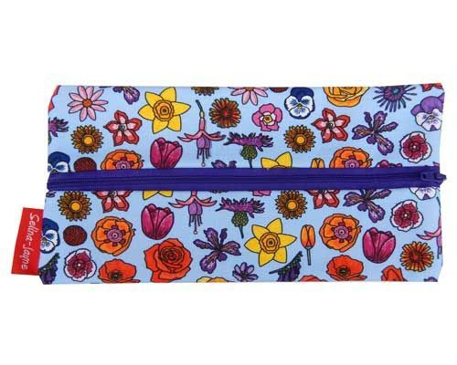 Selina-Jayne English Flowers Limited Edition Designer Pencil Case