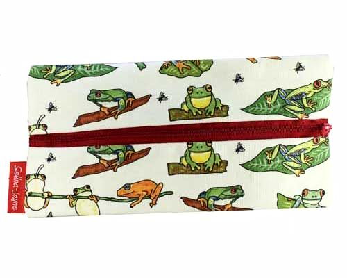 Selina-Jayne Frogs Limited Edition Designer Pencil Case