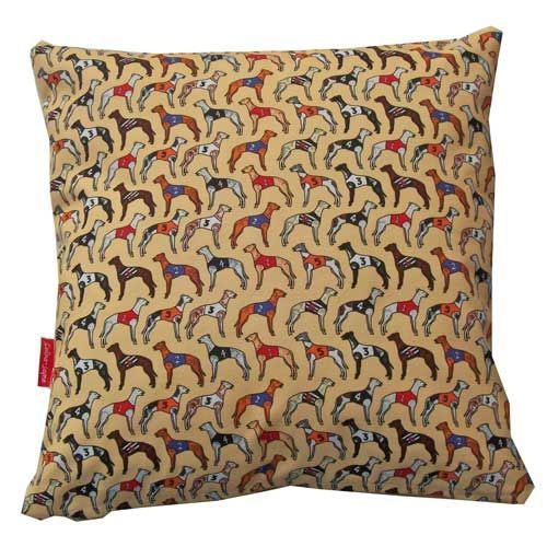 Selina-Jayne Greyhounds Limited Edition Designer Cushion  42cm x 42cm