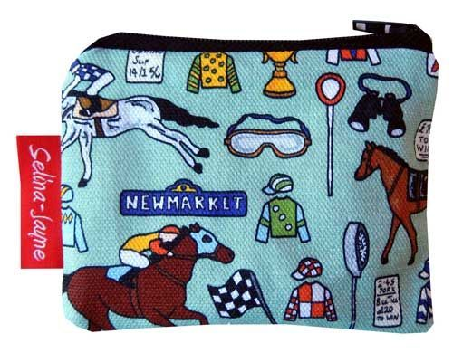 Selina-Jayne Horse Racing Limited Edition Designer Coin Purse