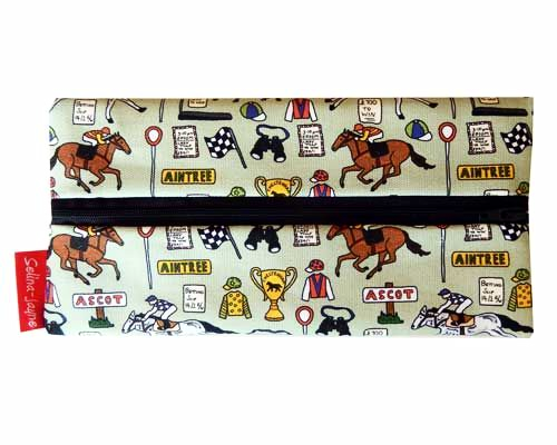 Selina-Jayne Horse Racing Limited Edition Designer Pencil Case
