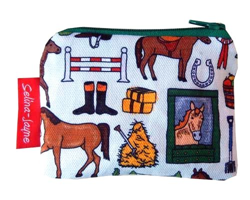 Selina-Jayne Horses Limited Edition Designer Coin Purse