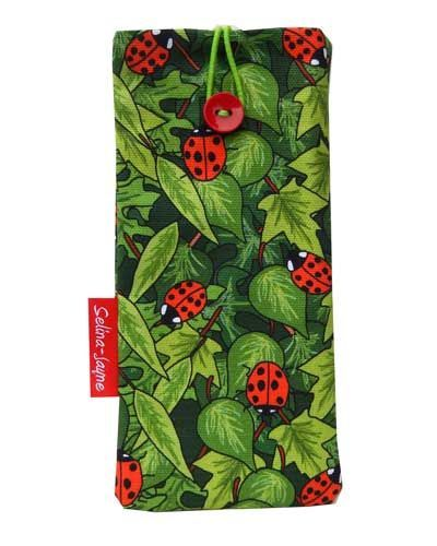 Selina-Jayne Ladybirds Limited Edition Designer Soft Glasses Case