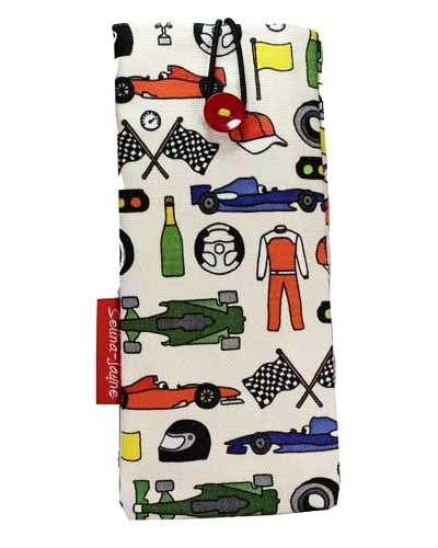 Selina-Jayne Motor Racing Limited Edition Designer Soft Glasses Case