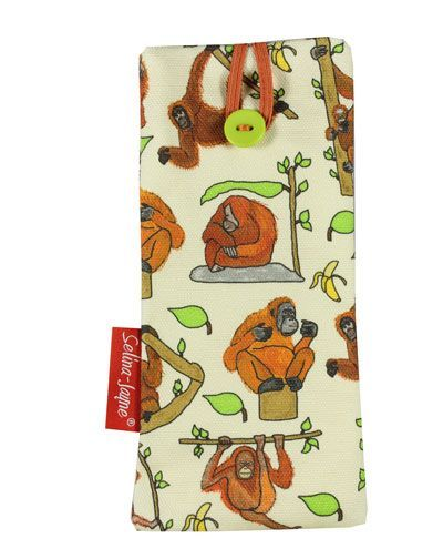 Selina-Jayne Orangutan Limited Edition Designer Soft Glasses Case