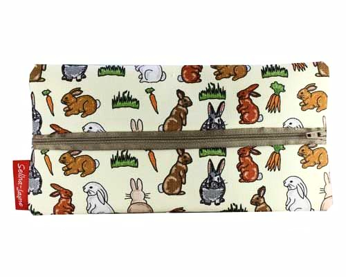 Selina-Jayne Rabbits Limited Edition Designer Pencil Case