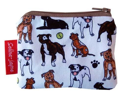 Selina-Jayne Staffy Dogs Limited Edition Designer Coin Purse