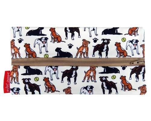 Selina-Jayne Staffy Dogs Limited Edition Designer Pencil Case