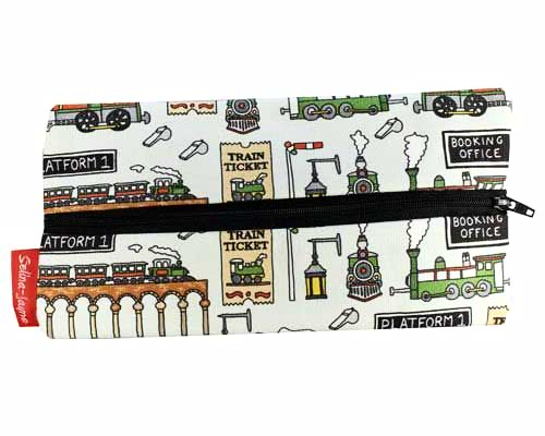 Selina-Jayne Steam Trains Limited Edition Designer Pencil Case