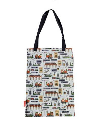 Selina-Jayne Steam Trains Limited Edition Designer Tote Bag