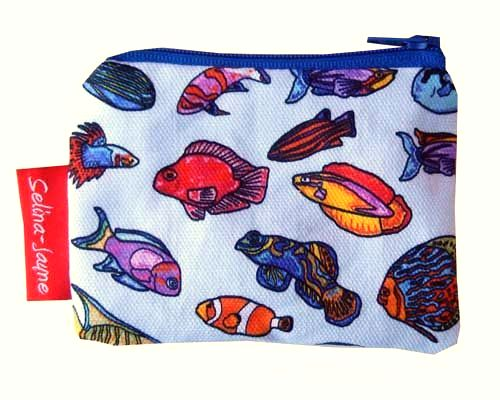 Selina-Jayne Tropical Fish Limited Edition Designer Coin Purse