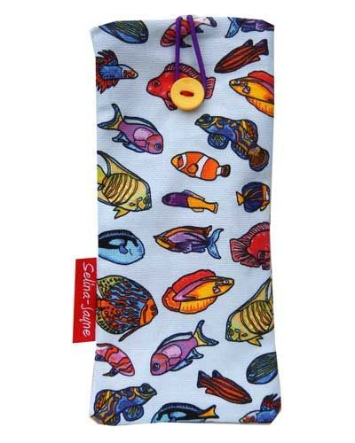 Selina-Jayne Tropical Fish Limited Edition Designer Soft Glasses Case