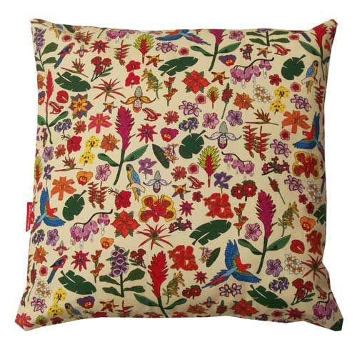 Selina-Jayne Tropical Flowers Limited Edition Designer Cushion  42cm x 42cm