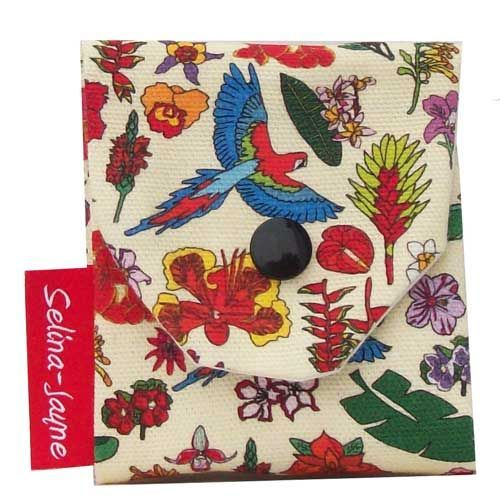 Selina-Jayne Tropical Flowers Limited Edition Designer Needle Case