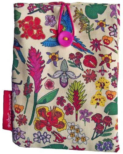 Selina-Jayne Tropical Flowers Limited Edition Designer Passport Holder