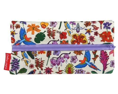 Selina-Jayne Tropical Flowers Limited Edition Designer Pencil Case