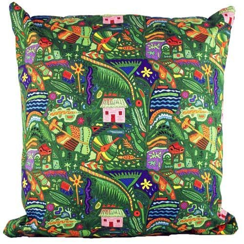 Selina-Jayne Tropical Island Limited Edition Designer Cushion  42cm x 42cm