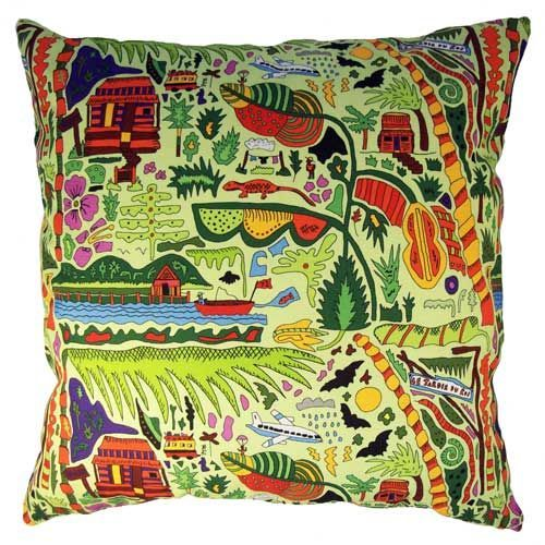Selina-Jayne Tropical Paradise Limited Edition Designer Cushion  42cm x 42cm