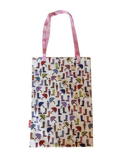 Selina-Jayne Wellies and Brollies Limited Edition Designer Tote Bag