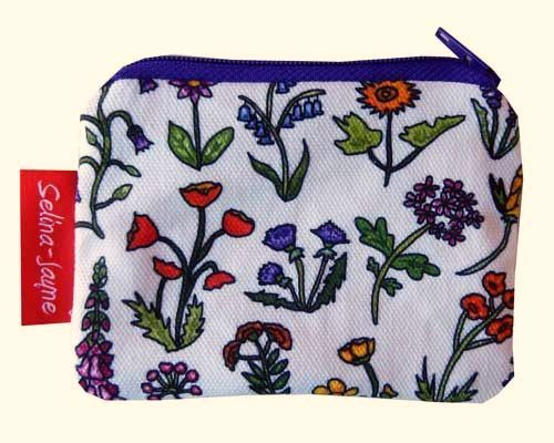 Selina-Jayne Wild Flowers Limited Edition Designer Coin Purse