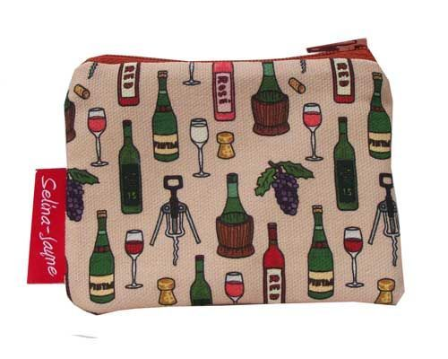 Selina-Jayne Wine Limited Edition Designer Coin Purse